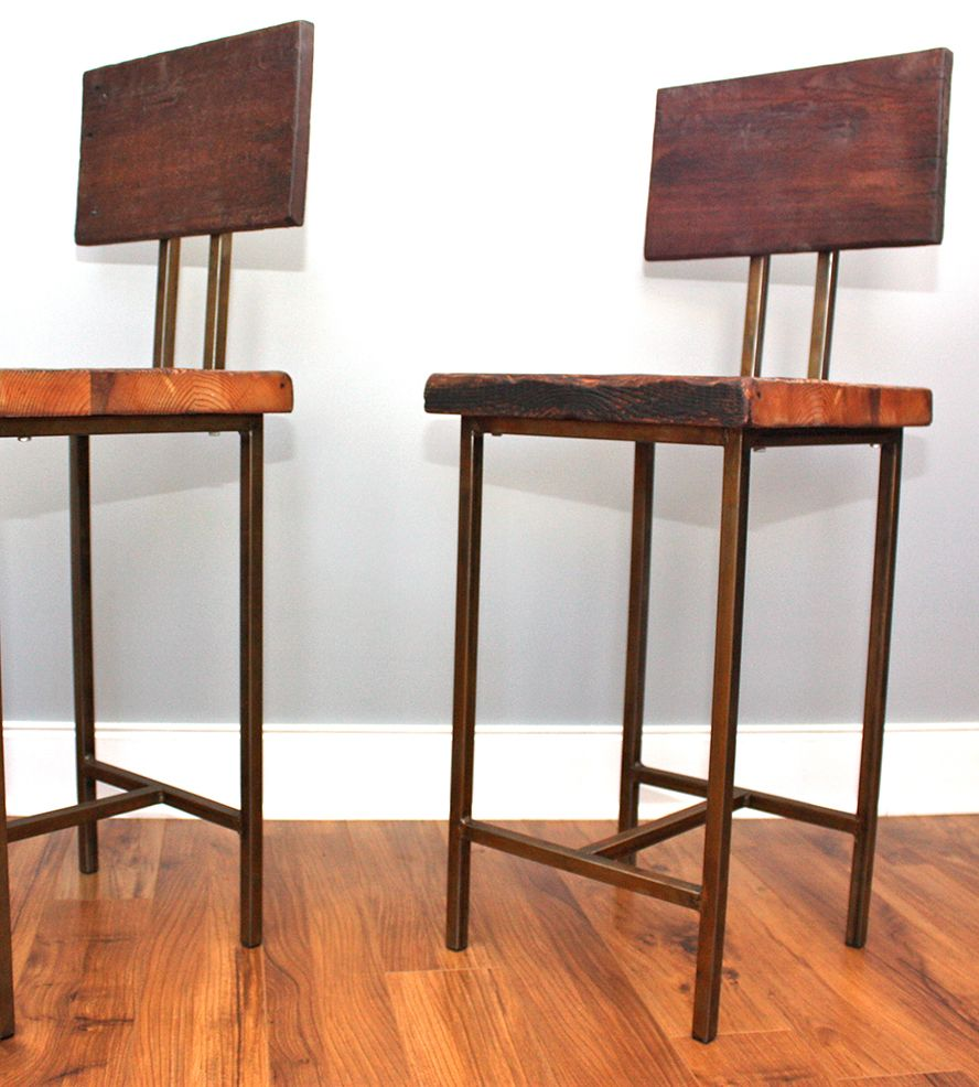 Reclaimed Wood Stools - What We Make