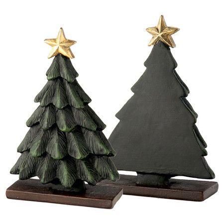 Christmas Tree Buffet Marker Set Of 4 Mini Chalkboards Indoor Christmas Christmas Tree Collection