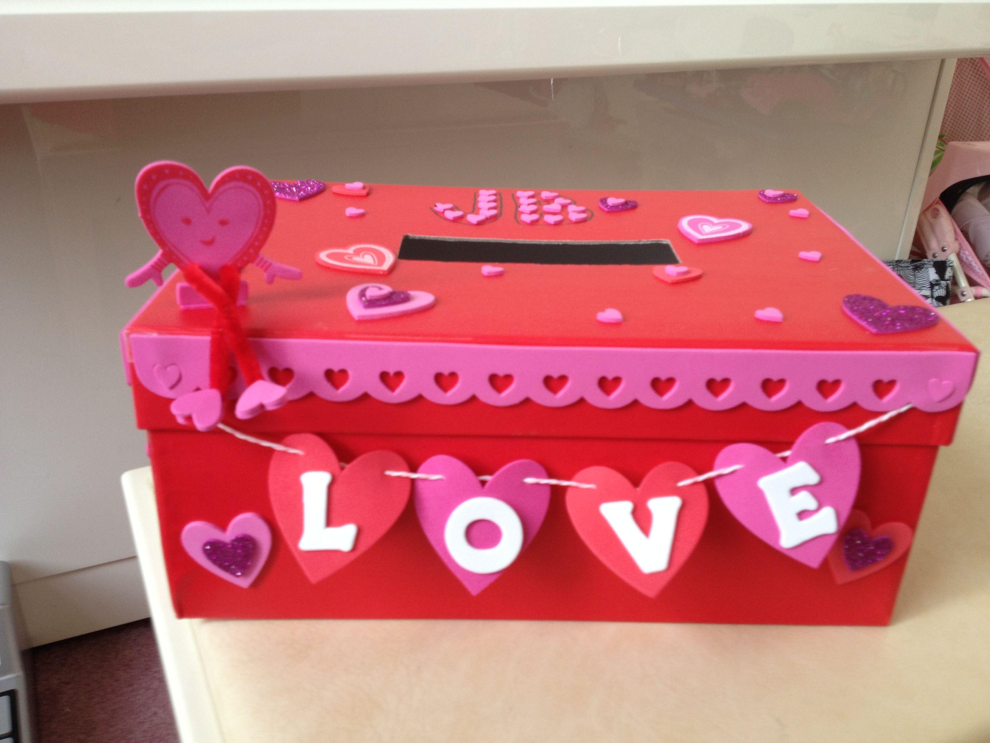 Valentine Box Kids Valentine Boxes Girls Valentines Boxes Valentine Card Box