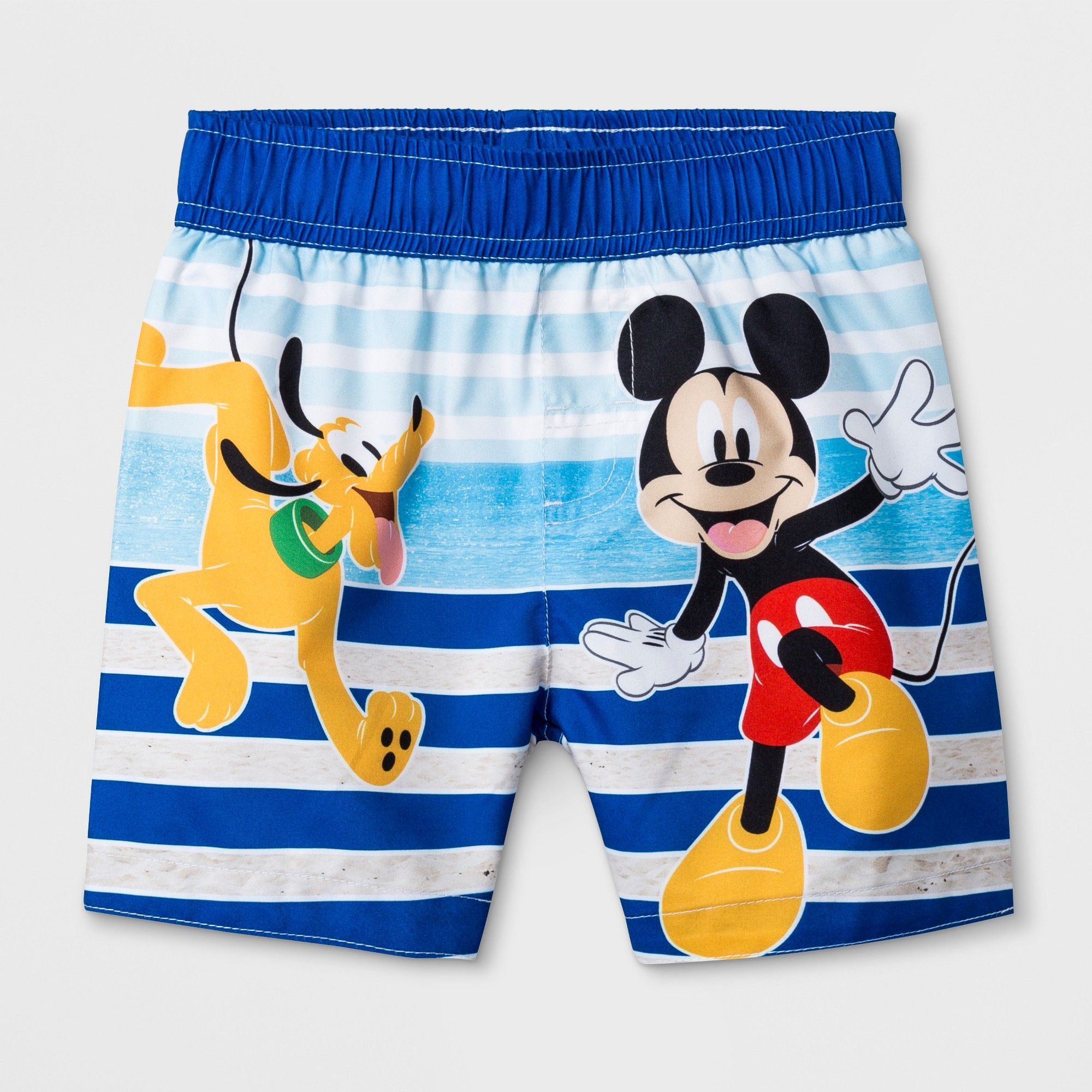 50de1ac5ac7f8 Toddler Boys' Mickey Mouse & Friends Swim Trunks - Blue 3T in 2019 ...