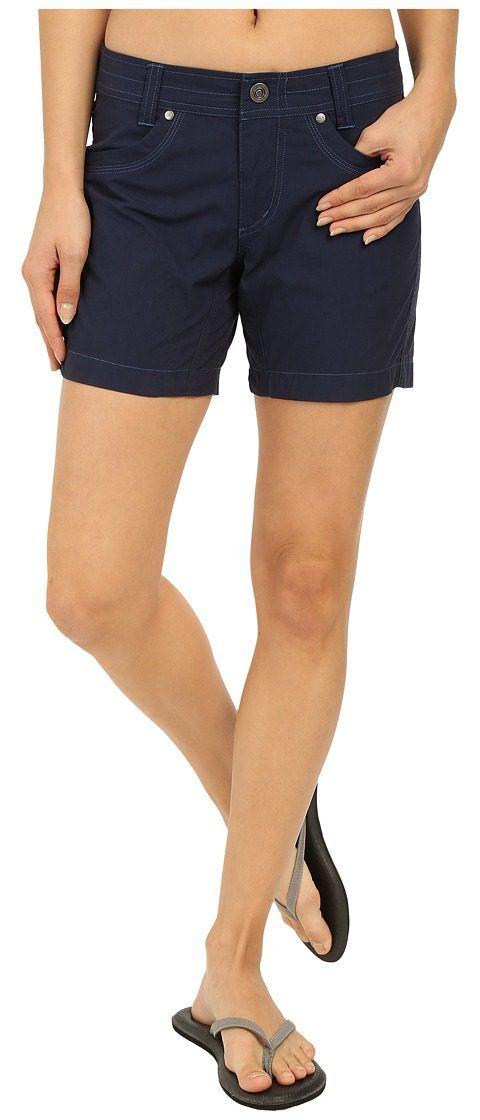 KUHL Splash 5.5 Short (Indigo) Women's Shorts - KUHL, Splash 5.5 Short, 6078-427, Apparel Bottom Shorts, Shorts, Bottom, Apparel, Clothes Clothing, Gift, - Street Fashion And Style Ideas