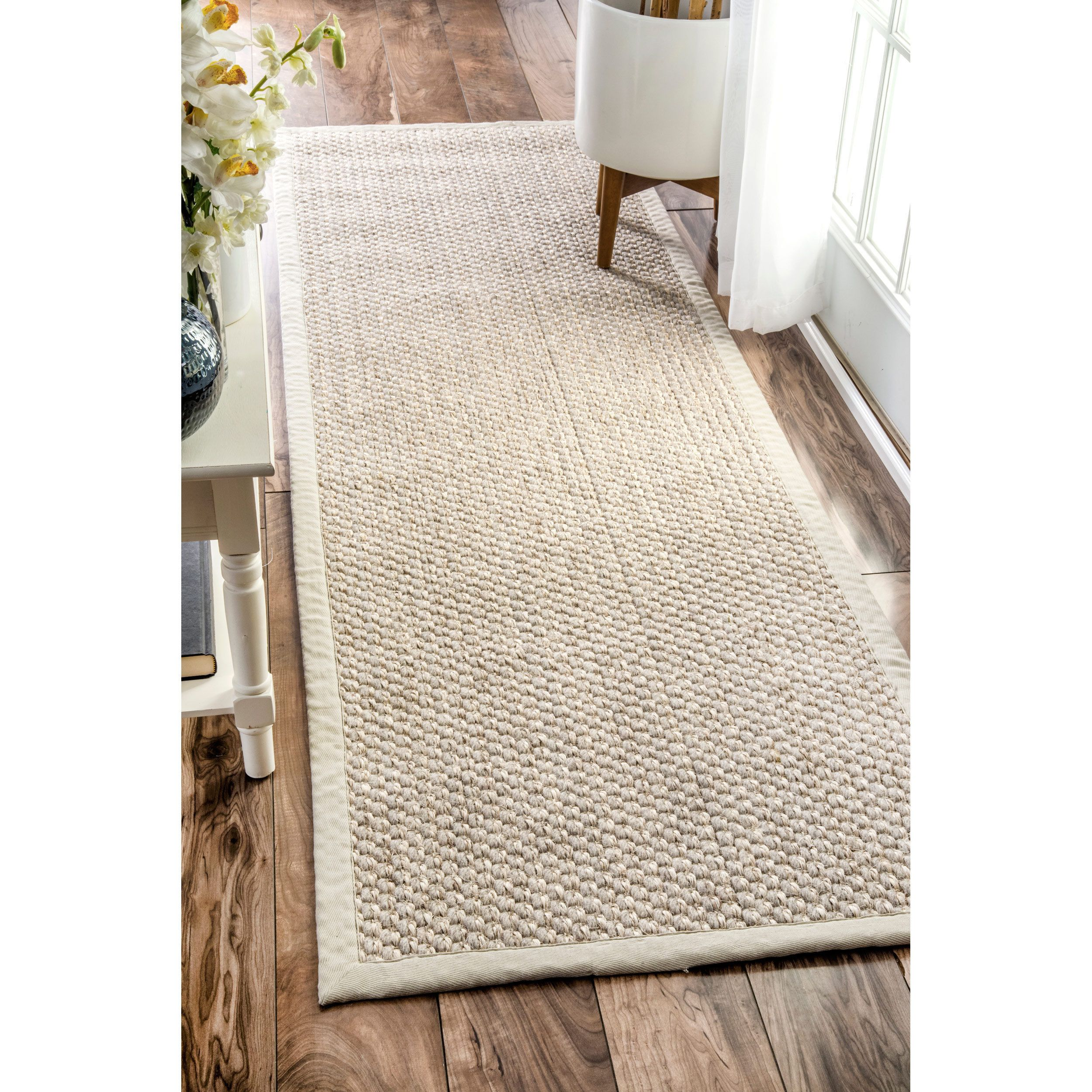 Beige 2 X 8 Runner Rugs Use In Hallways And