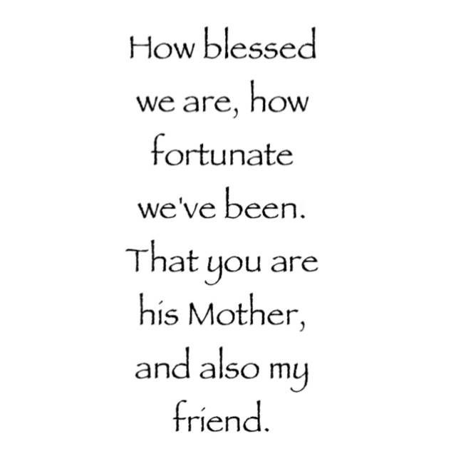 Mother In Law Quotes ❤ Blessed to have a wonderful Mother in law who is also one  Mother In Law Quotes
