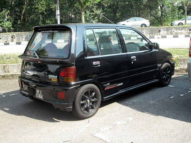 Updated Perodua Kancil Daihatsu Mira Photo Shots With Images
