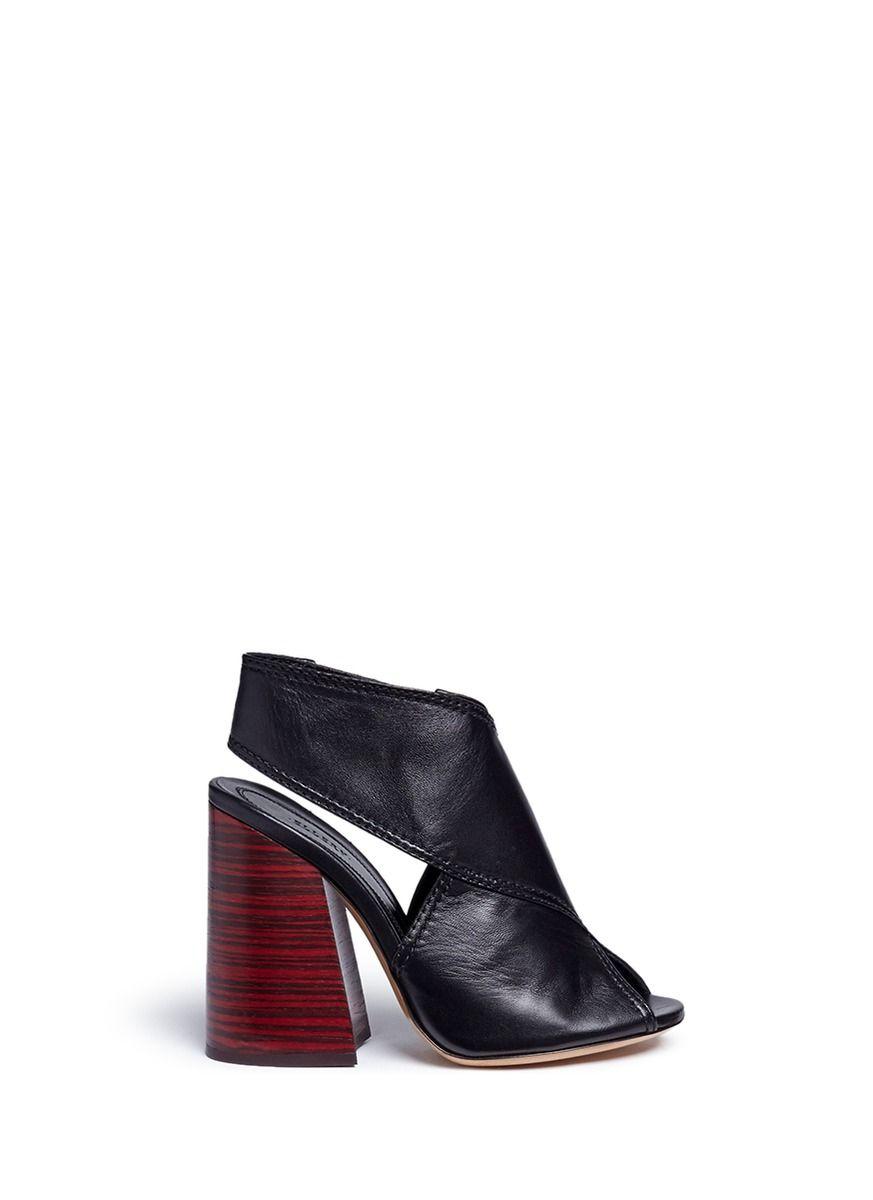 21897b411db ELLERY  Winston  slingback leather sandals.  ellery  shoes  pumps ...