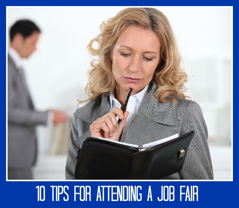 Going to a job or career fair