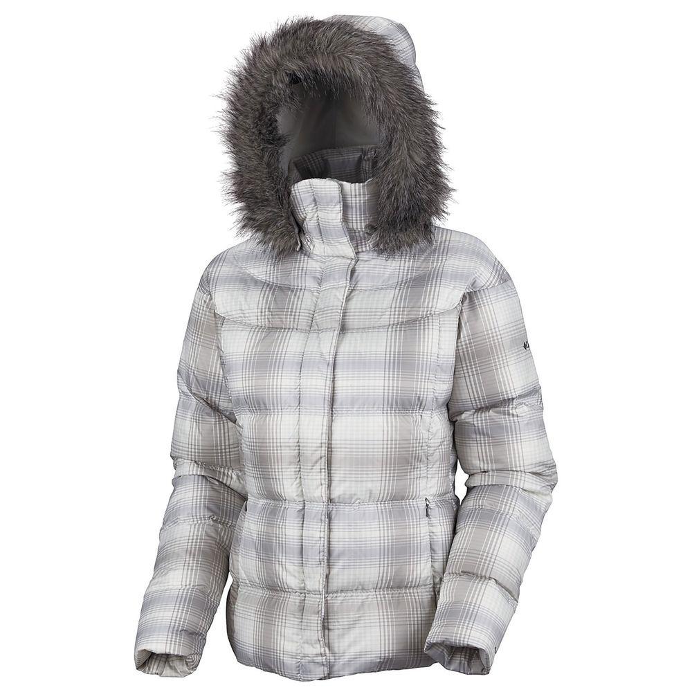 190 Columbia Women Winter insulated Down Jacket coat XL