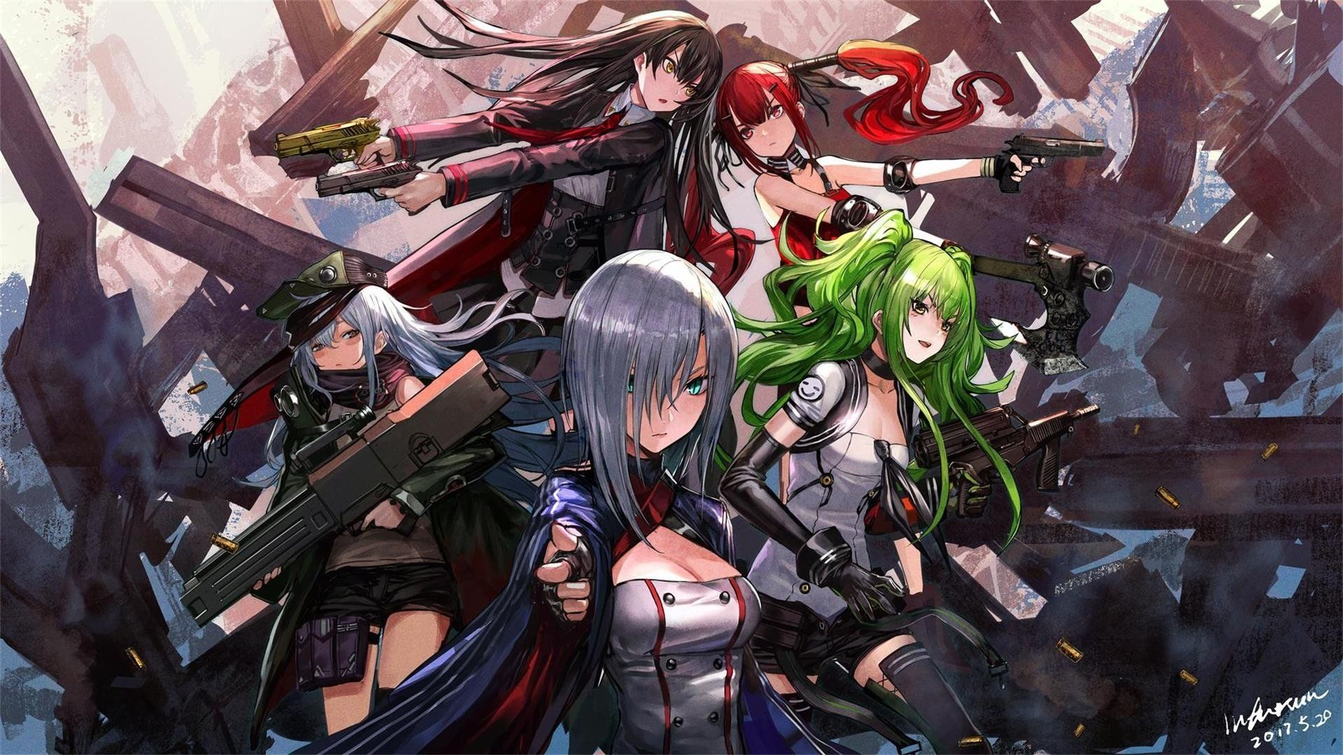 Anime Girls Frontline Wallpaper 少女前線 イラスト キャラクター