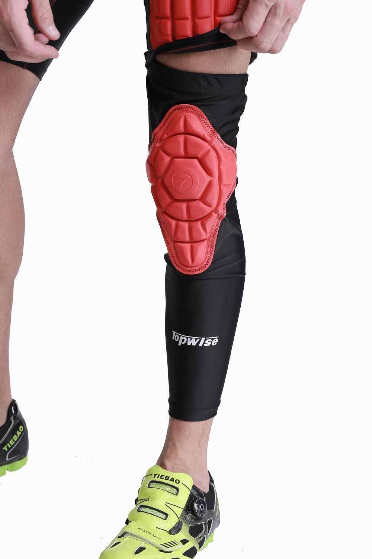 Amazon Com Dgyao Protective Compression Knee Pads Crashproof Football Basketball Leg Sleeve Sports K Knee Compression Sleeve Basketball Leg Sleeves Knee Pads