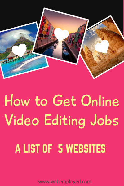 5 Websites For Finding Online Video Editing Jobs In 2020 Video Editing Editing Jobs Video Online