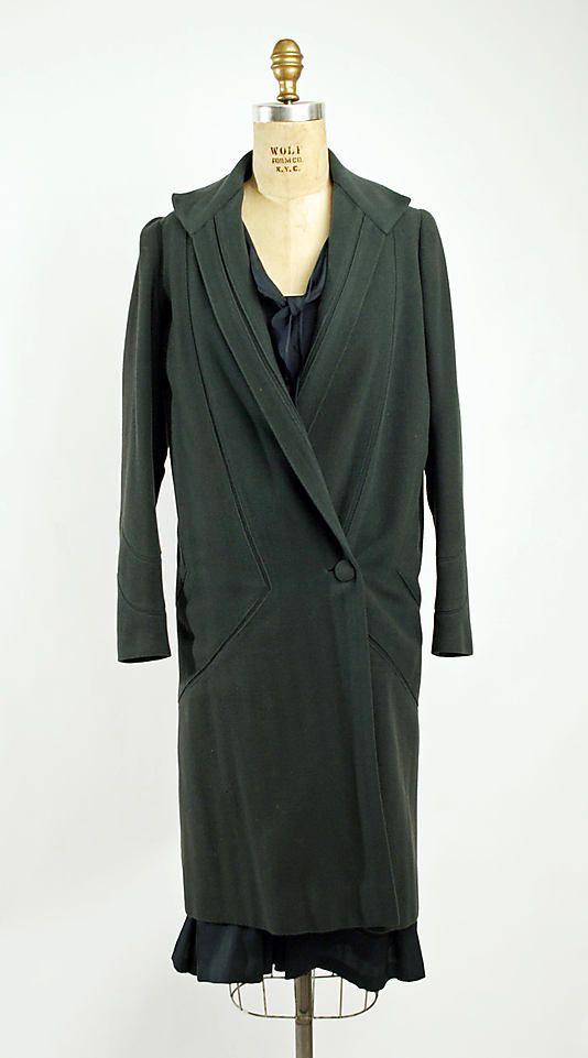 1928 - Miss Carroll. Wool, silk.