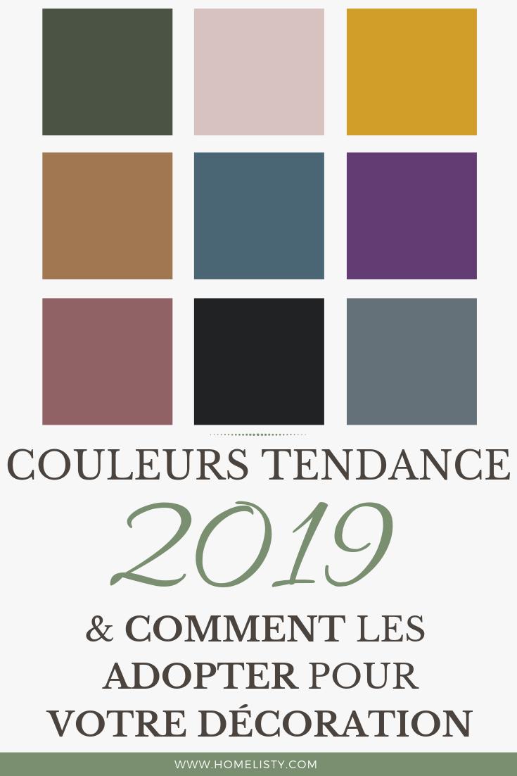 Tendance Couleur Deco 2019 9 couleurs tendance en 2020 pour la déco (peinture & coloris