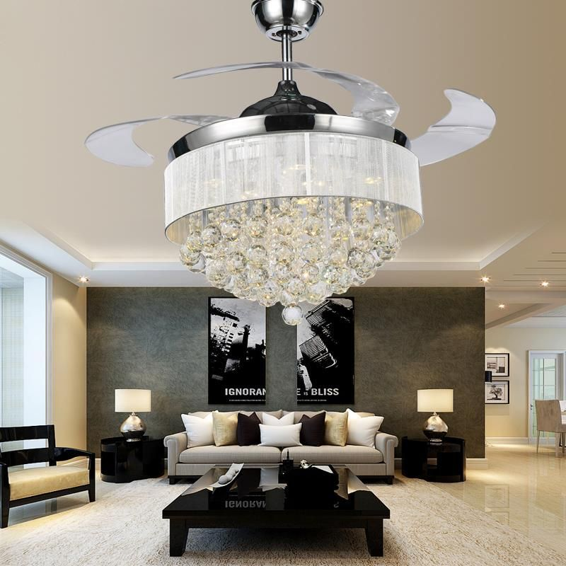 Ceiling Fan With Chandelier Light: Chandelier Ceiling Fan Combo
