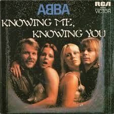Image result for abba knowing me knowing you live