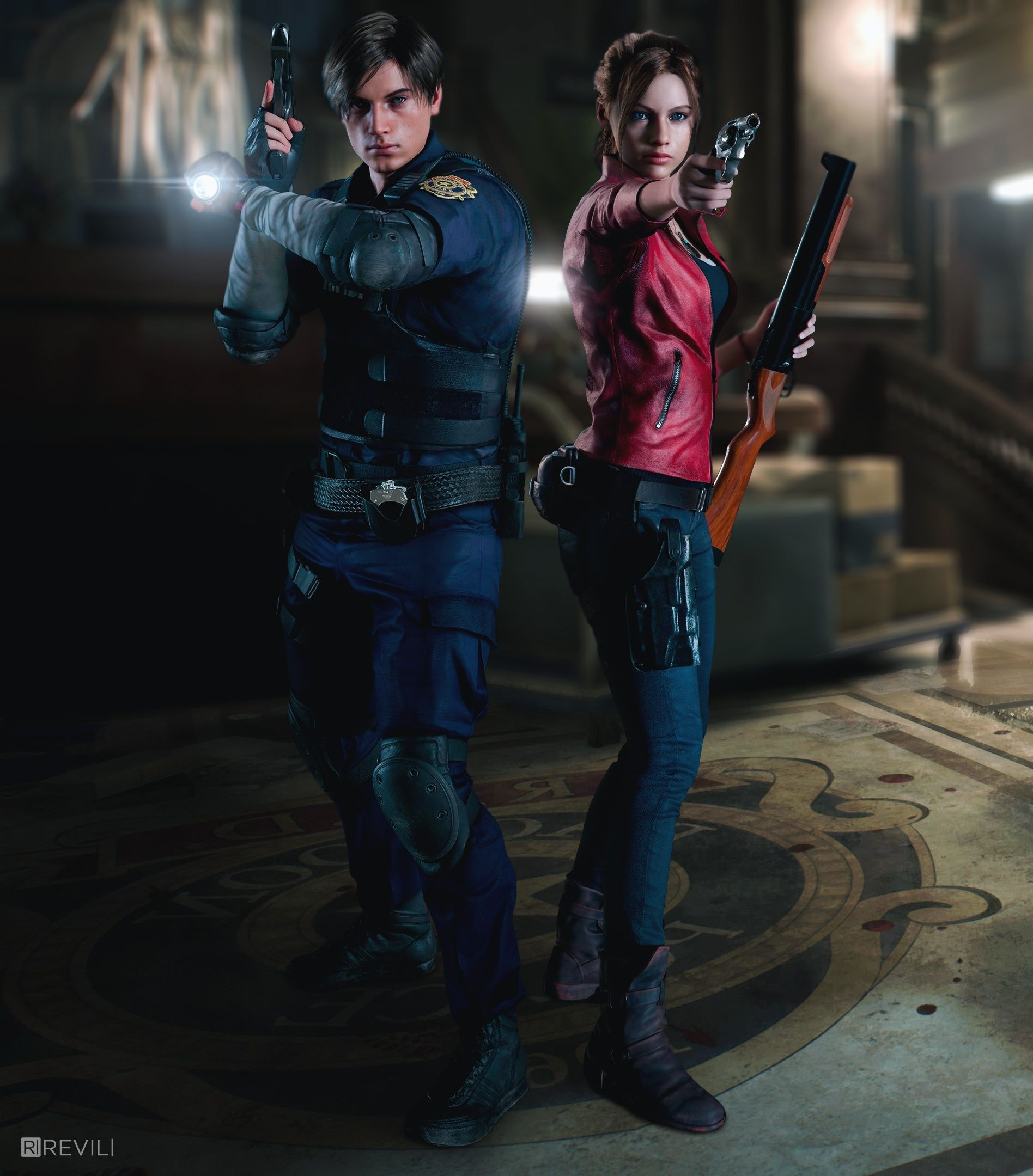 Wallpaper 4k Resident Evil 2 Remake Resident Evil Leon Resident Evil Resident Evil Collection