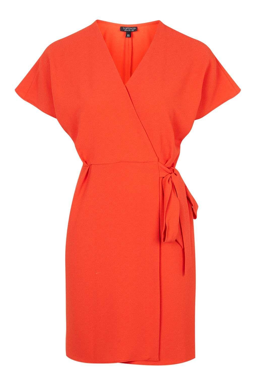 db13e2b173bc Wrap Dress - Dresses - Clothing - Topshop Europe