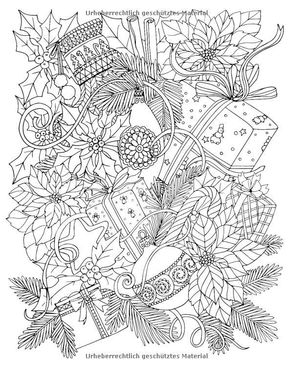 Kreatives Ausmalen Frohliche Weihnachten Inspiration Amp Entspannung Amazon De Bucher Ausmalen Weihnachtsmalvorlagen Wenn Du Mal Buch