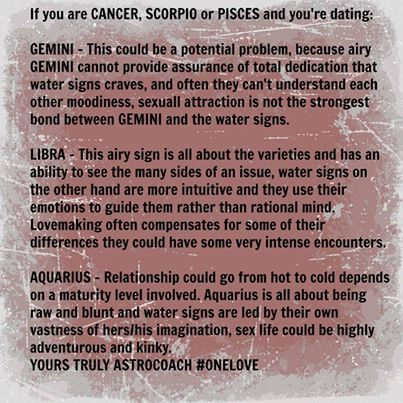 from Dean gemini dating libra