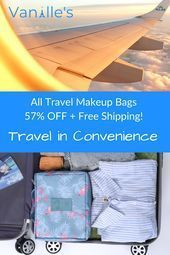 Photo of What to pack for vacation   Womans travel bag Large volume and compartments sto …