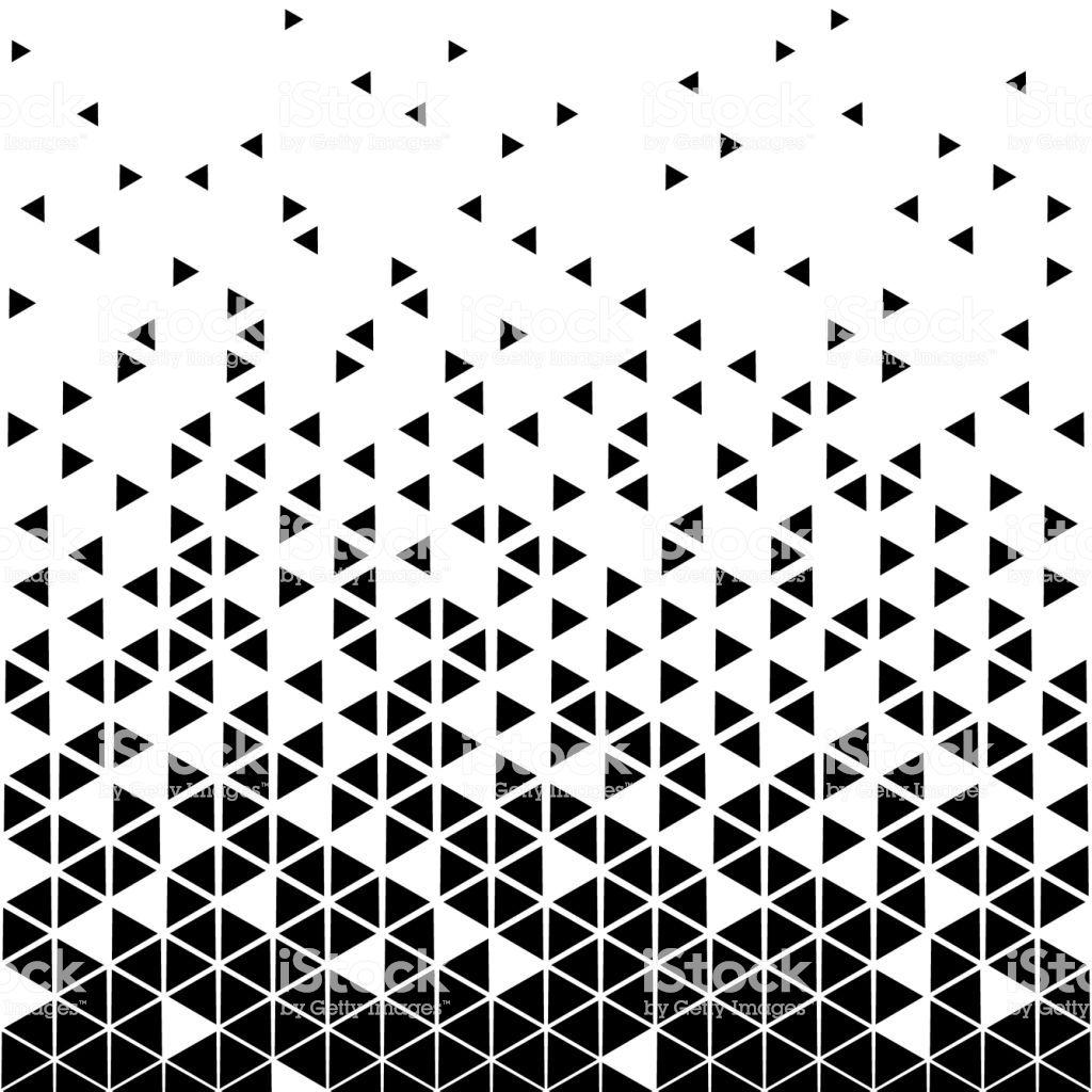 Dreieck Muster Abstrakt Pastell Wall Mural 9