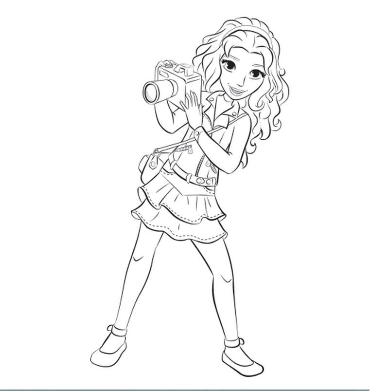 Printable Lego Friends Coloring Page Lego Coloring Pages Birthday Coloring Pages Coloring Pages