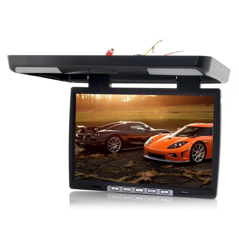 15.4 Inch Roof Mounted Car Monitor IR Transmitter