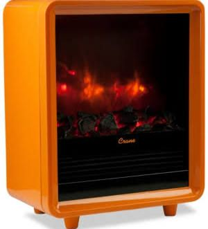 Mini Fireplace Heater Orange Fireplace Heater Small Electric