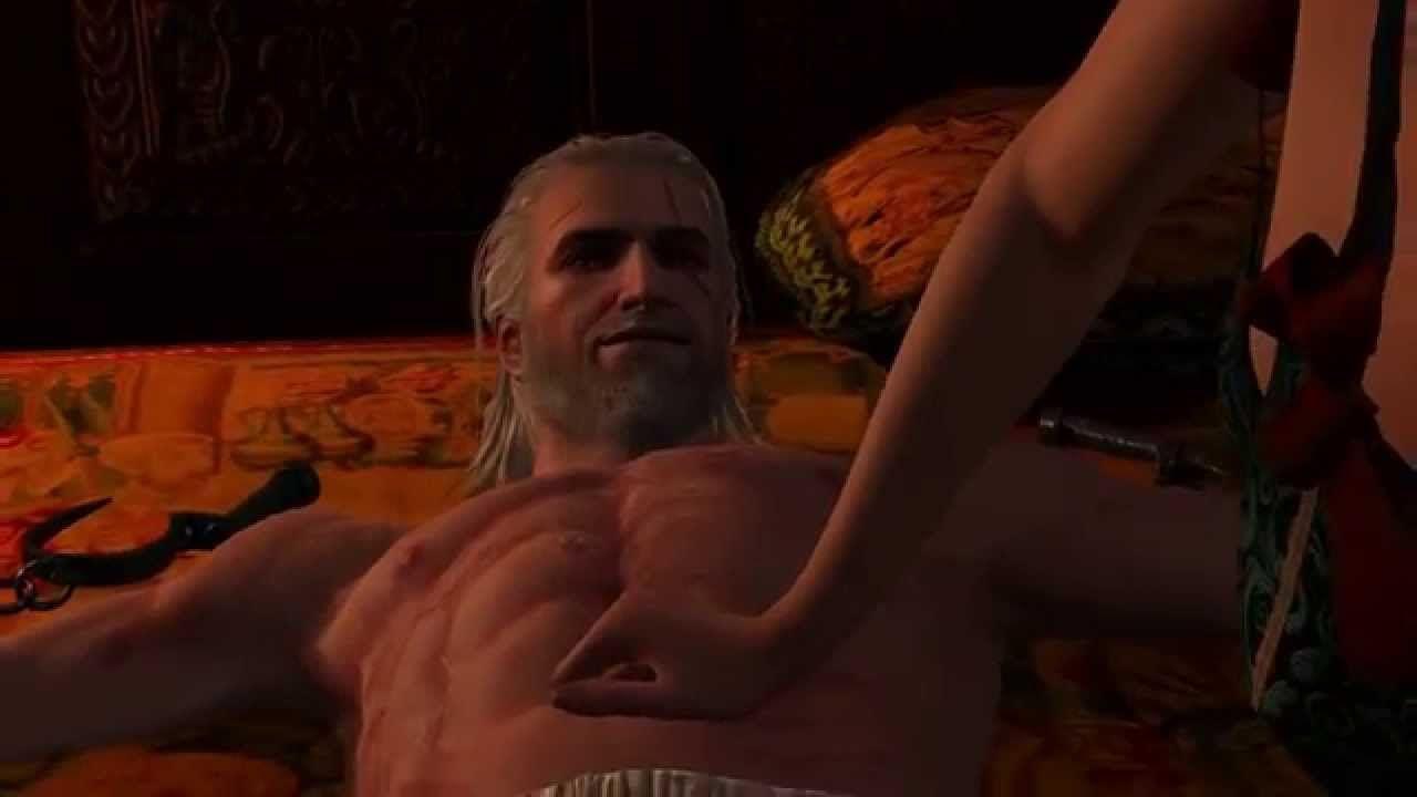 Секс сцены в witcher видео