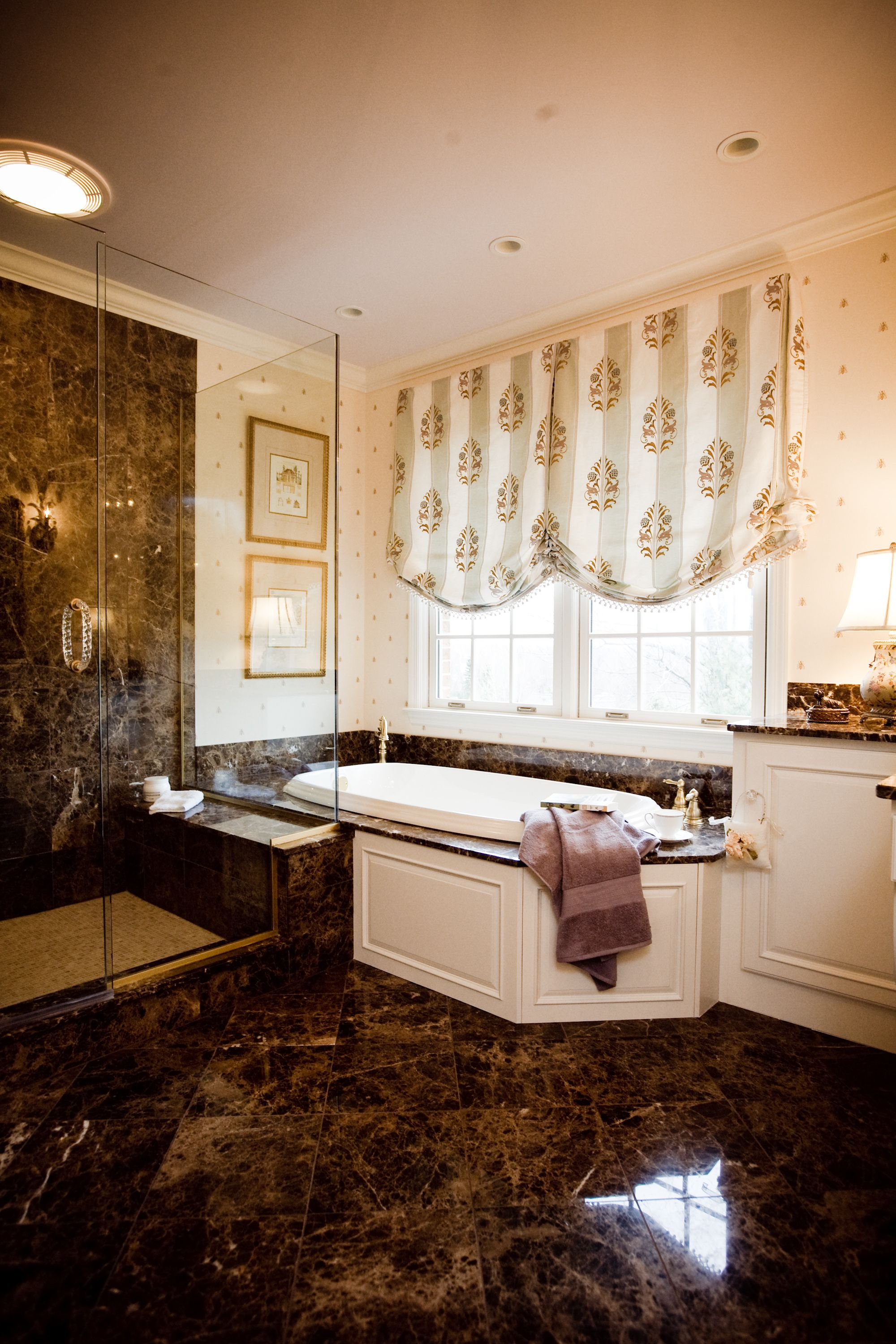 Transforming The Master Bath With Marble This Master