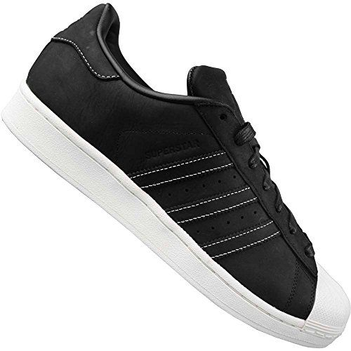 Superstar, Baskets Basses Mixte Adulte, Noir (Cblack/Ftwwht/Cblack), 43 1/3 EUadidas Originals