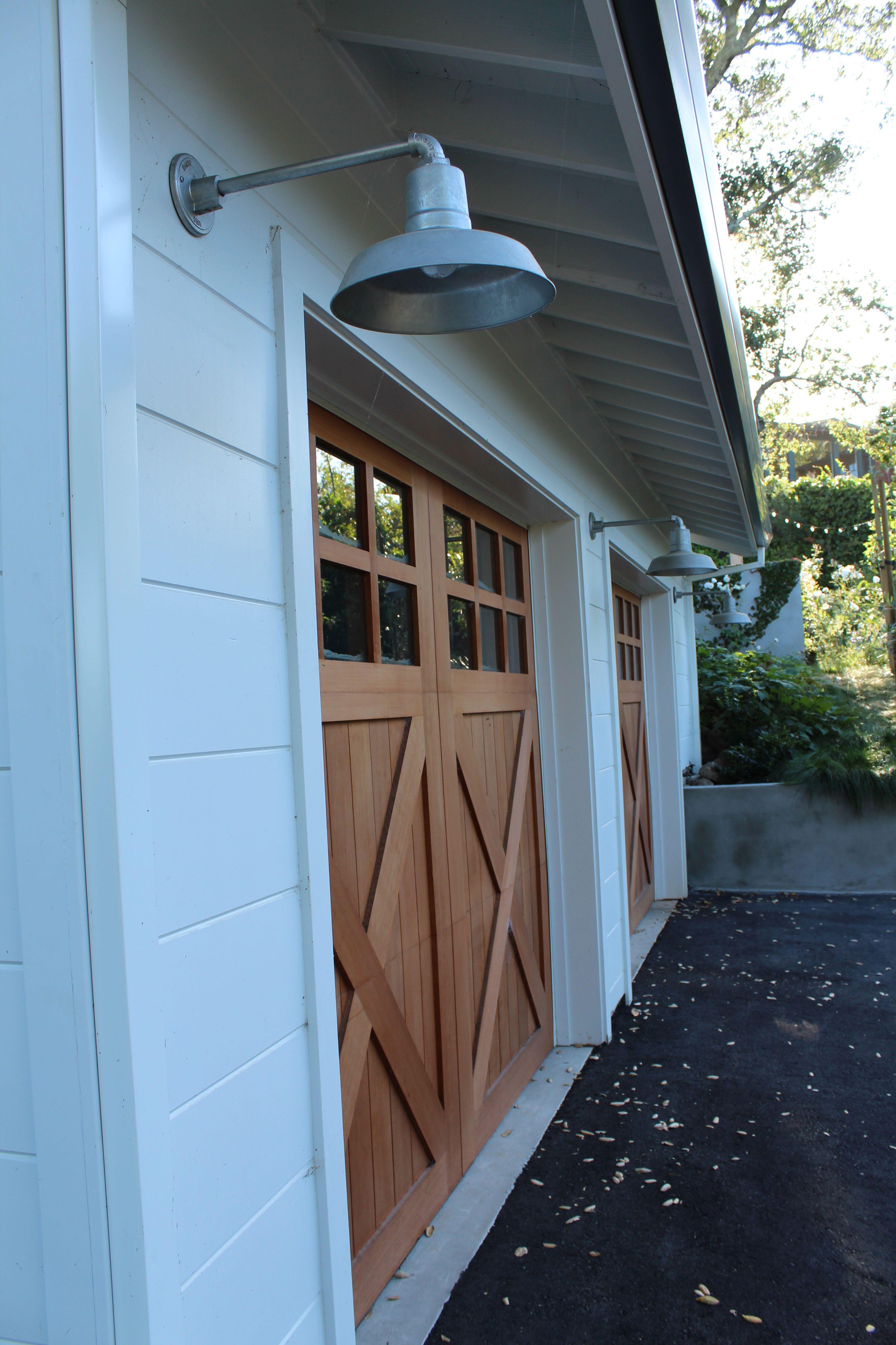 Vintage timber frame barn addition farmhouse exterior burlington - Galvanized Goes With Garages Outdoor Lights