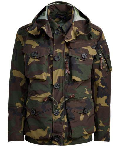 9a31804b8f6fc Polo-Ralph-Lauren-Men-Military-Army-Camo-Utility-Paratrooper-Combat-Rain- Jacket