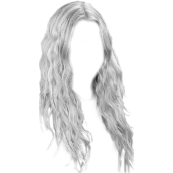 Lunapic Com Photo Editor Black And White Tool Liked On Polyvore Featuring Hair And Doll Parts Doll Hair Hair Png Anime Hair