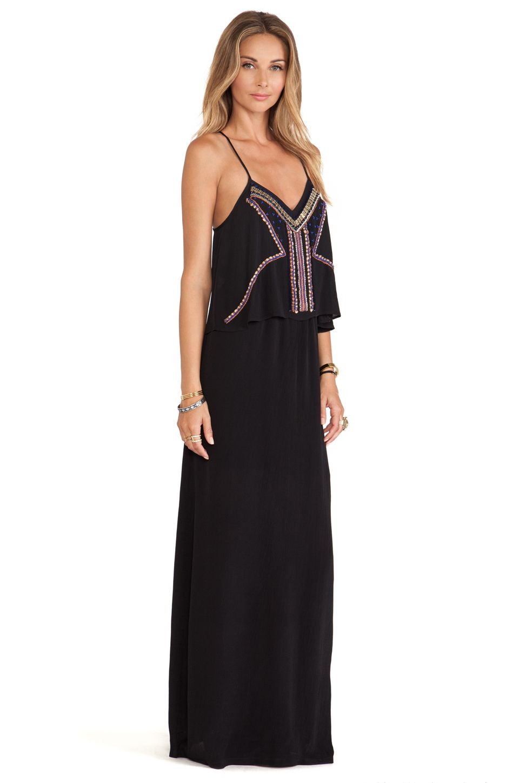 Tularosa Josephine Maxi Dress in Black | REVOLVE