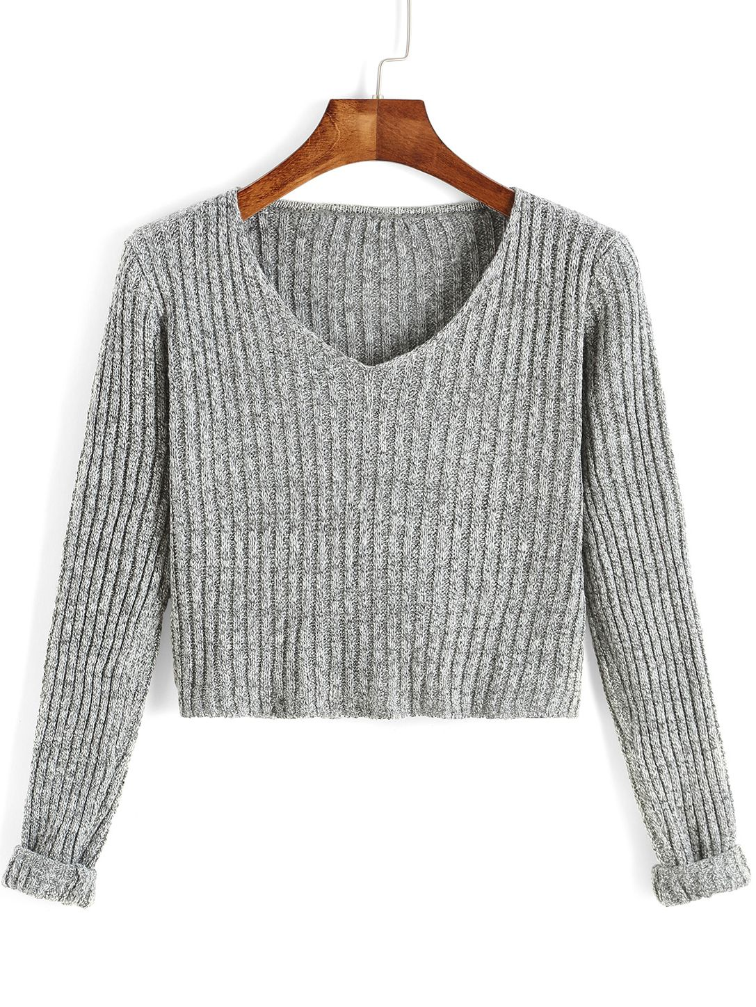 Think your Grey Crop Sweater are only for the weekends? Think ...