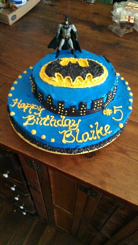 Batman cake for Blaike