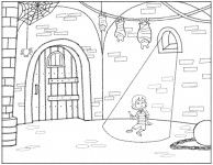 Coloring Page For New App Creative Apps Coloring Pages Prison Cell