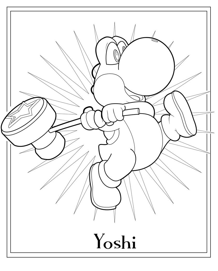jimbos coloring pages free super mario coloring page