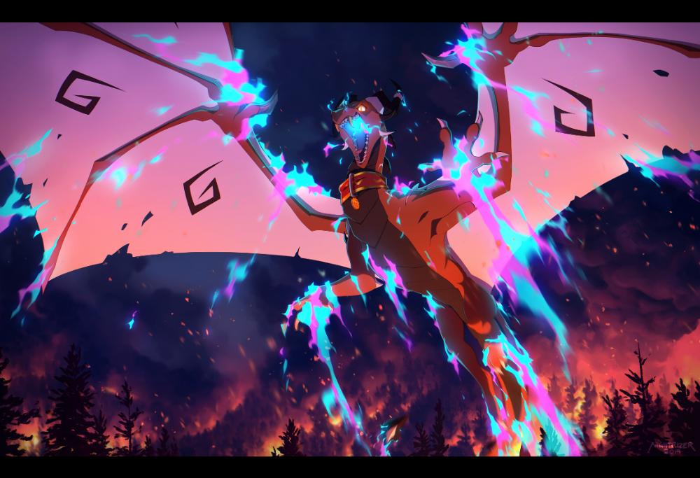 Pin by HoldKamilla on Misztikus lények Wings of fire
