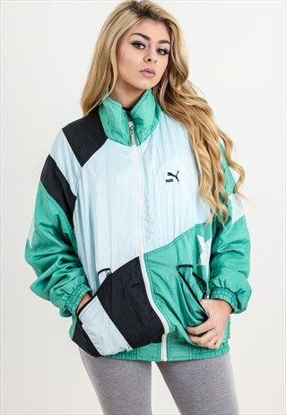 5ae81082 Vintage+Puma+Shell+Jacket | Puma in 2019 | Jackets, Vintage outfits ...