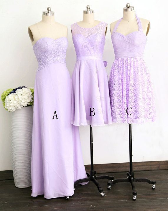 Purple Junior Bridesmaids