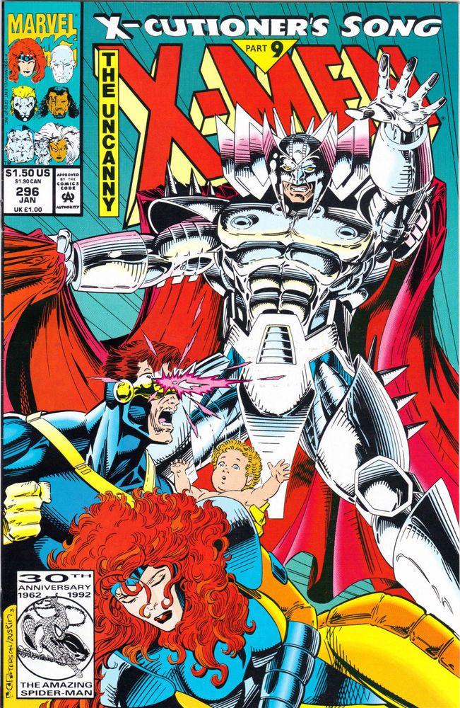 X Cutioner S Song Part 9 X Men Marvel Comics Book Marvel Comics Covers Marvel Comic Books X Men