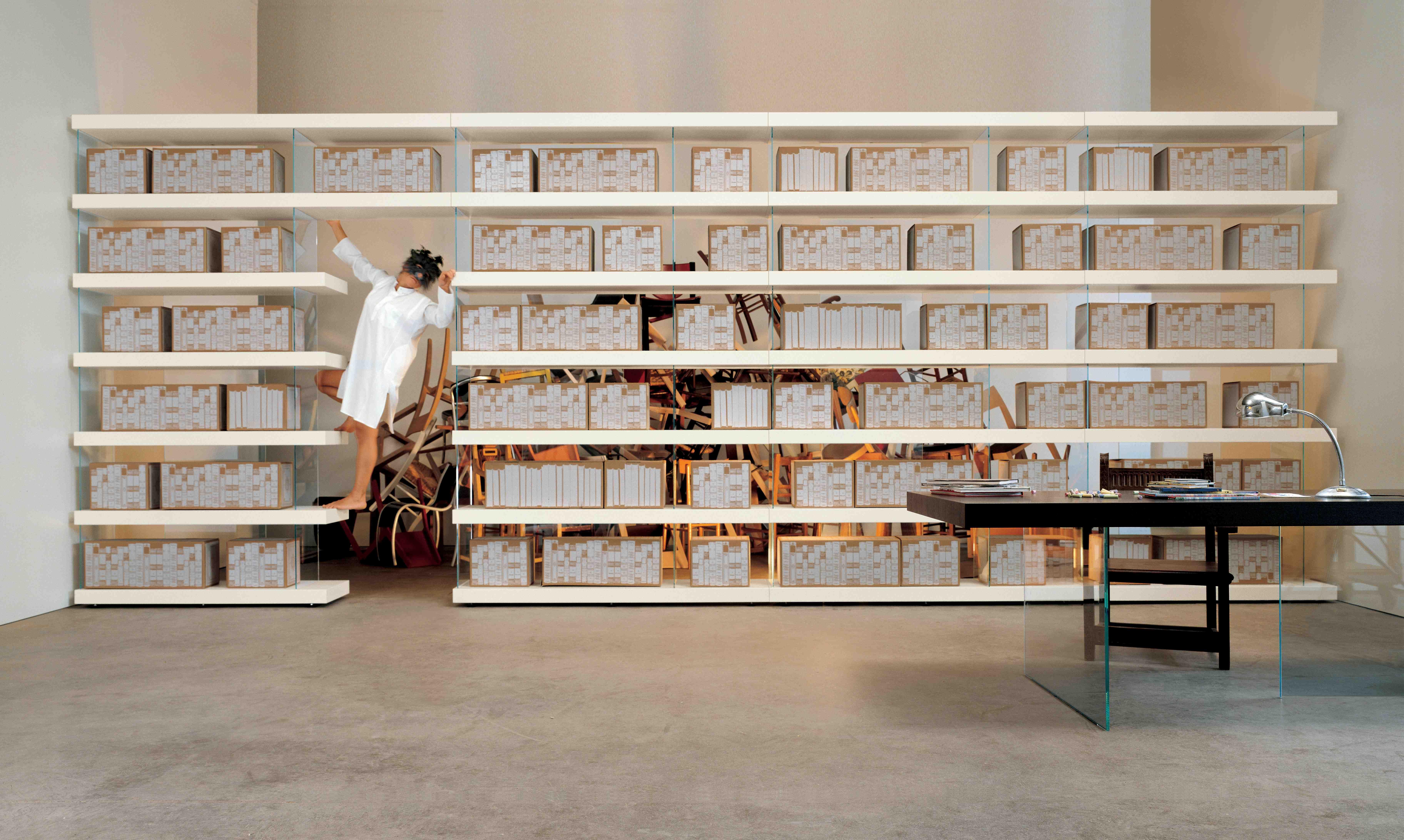 D Guisementarchiviste Une Biblioth Que Flottante R Alis E Avec Des  # Bibliotheque Composition