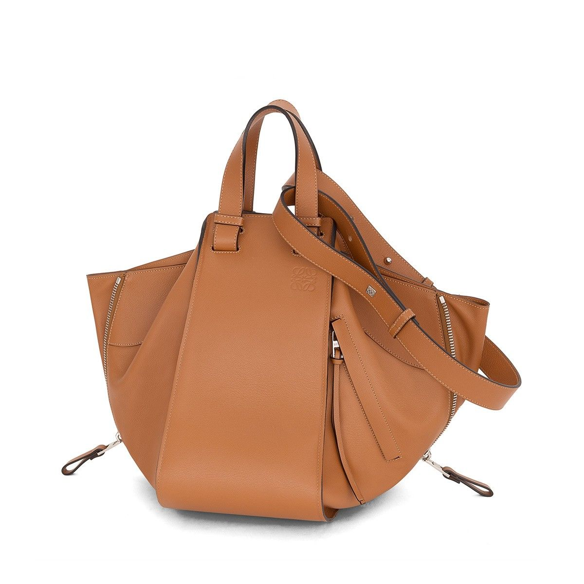 Loewe Shoulder Bags Hammock Bag Tan Handbag Perfection