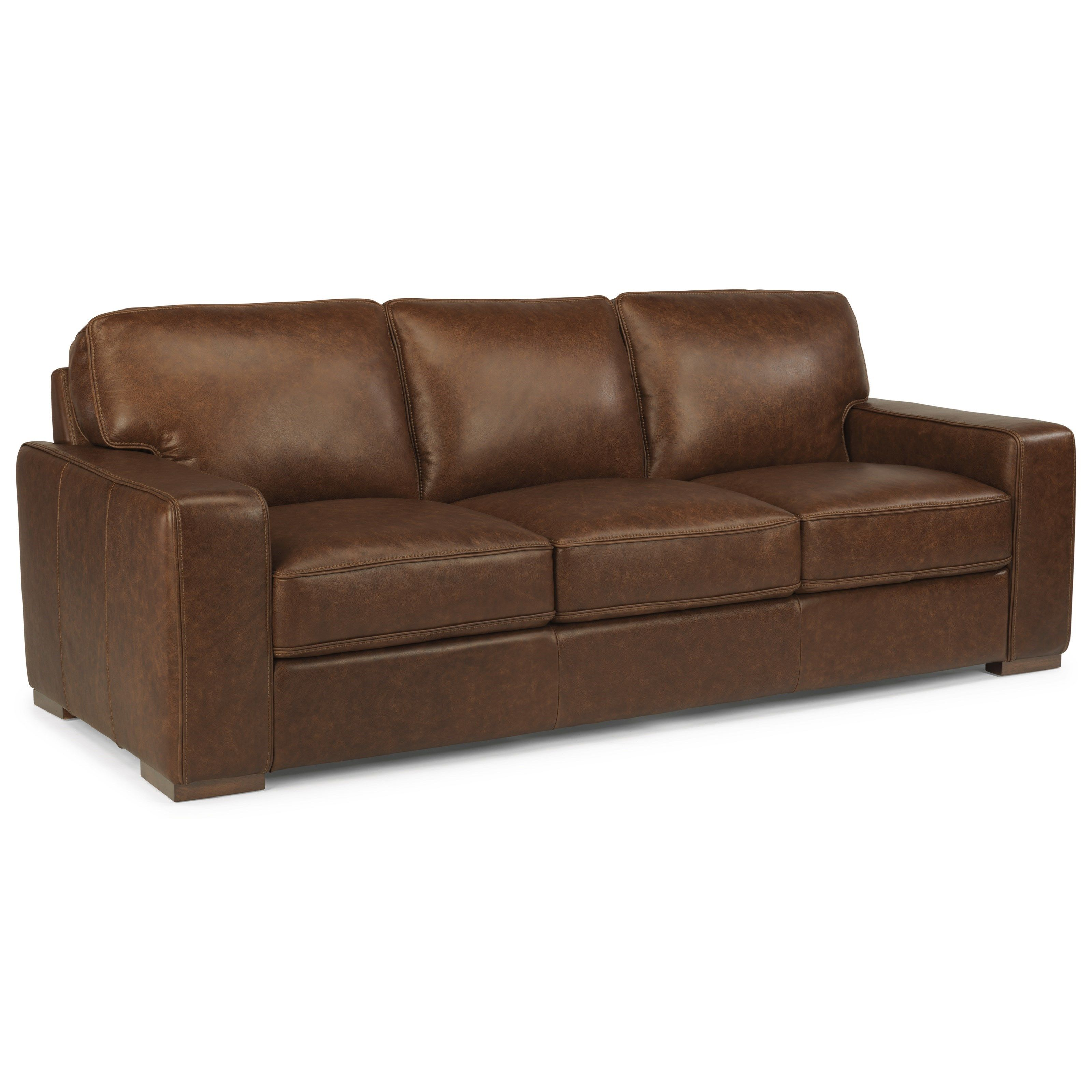 latitudes mckinley leather sofa by flexsteel living room ideas rh pinterest com