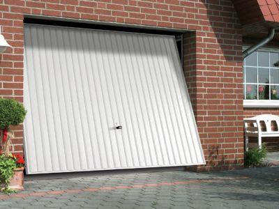 Porte De Garage Basculante Hormann Gsl L 240 X H 200 Cm En Kit Porte De Garage Basculante Porte Garage Idee Garage
