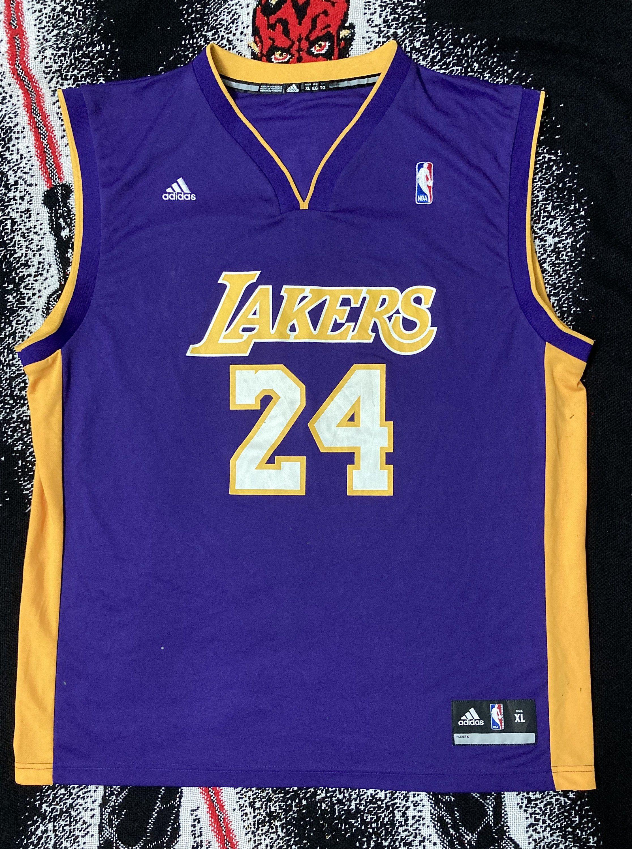 Vintage 06 Los Angeles Lakers Kobe Bryant Nba Jersey Adidas In 2020 Lakers Kobe Bryant Lakers Kobe Kobe Bryant Nba