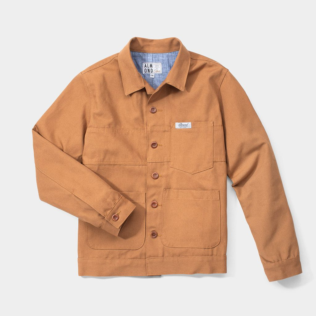 Planer Jacket // Brown Duck | Almond Surfboards & Designs | amac ...