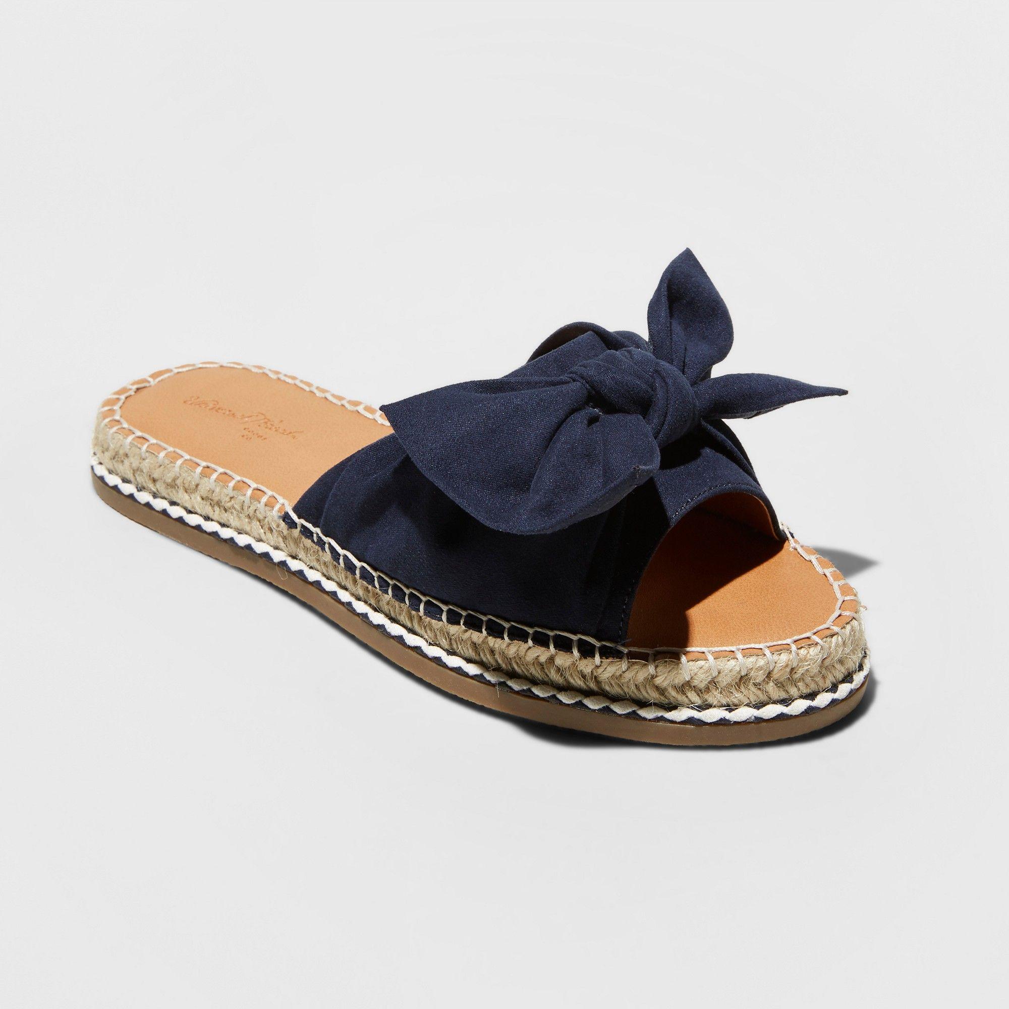 1524f92d1d8 Women's Sigma Wide Width Bow Espadrille Sandals - Universal Thread ...