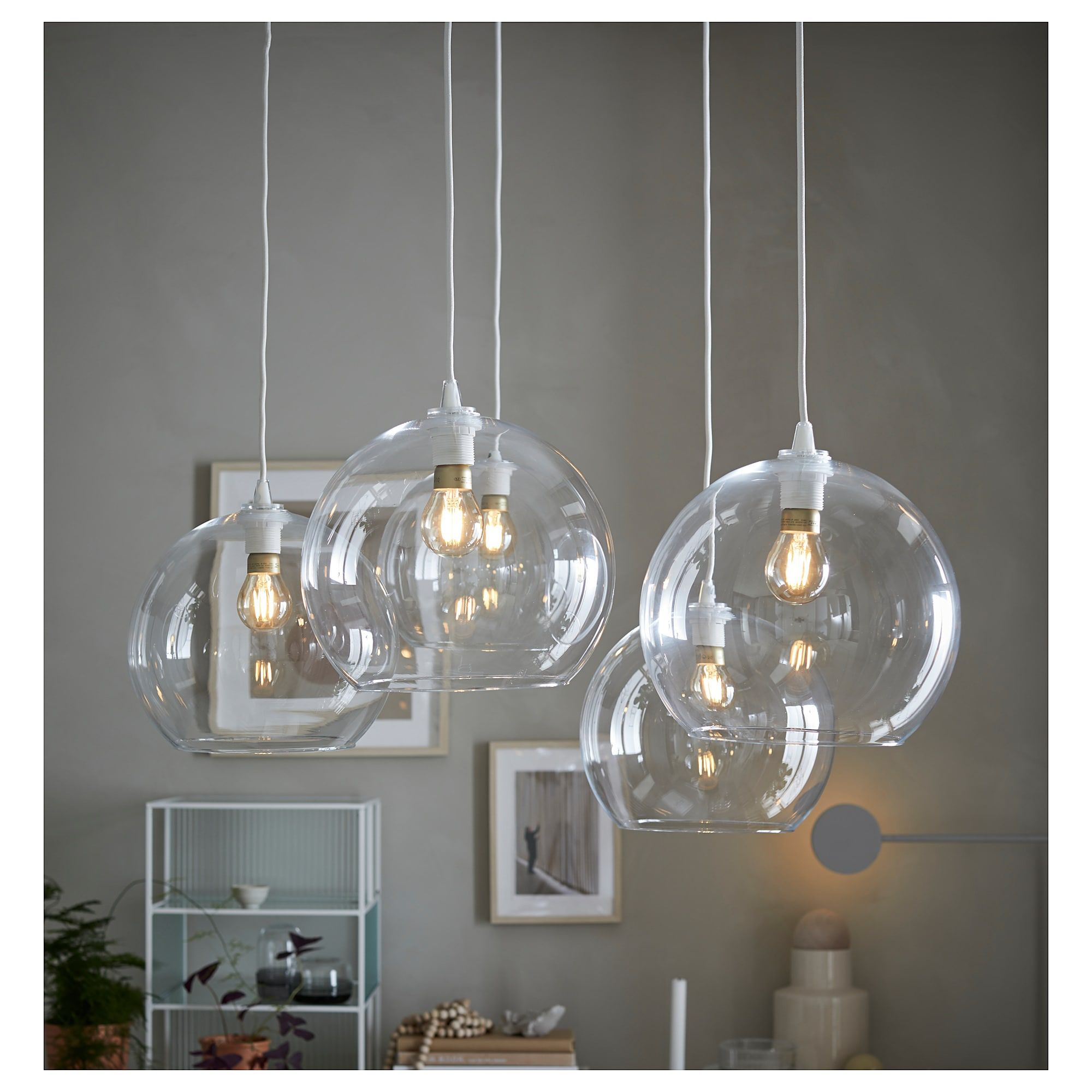 Jakobsbyn Pendant Lamp Shade Clear Glass Pendant Lamp Shade